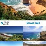 دانلود تصاویر استوک ساحل Stock Photos Coast Set