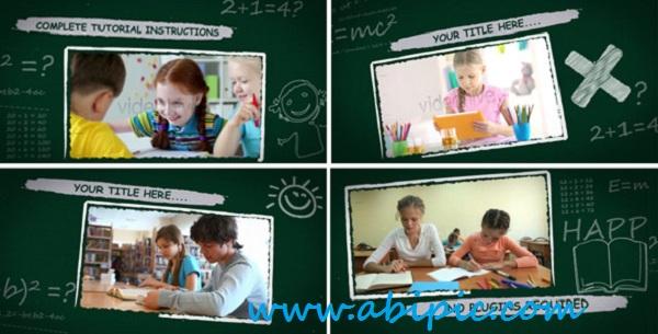 دانلود پروژه افترافکت بازگشت به مدرسه Back to School After Effects Project