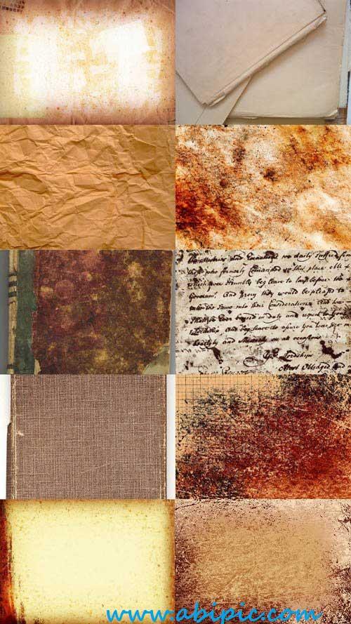 دانلود 20 تکسچر کاغذهای قدیمی Old Paper Textures