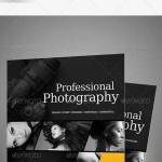 دانلود طرح لایه باز پوستر حرفه ای عکاسی Professional Photography Flyers