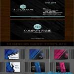دانلود وکتور کارت ویزیت شماره 123 Vector Business Card