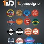 دانلود طرح لایه باز لوگو و برچسب فروش برای فروشگاه ها Beautiful Badges PSD Template