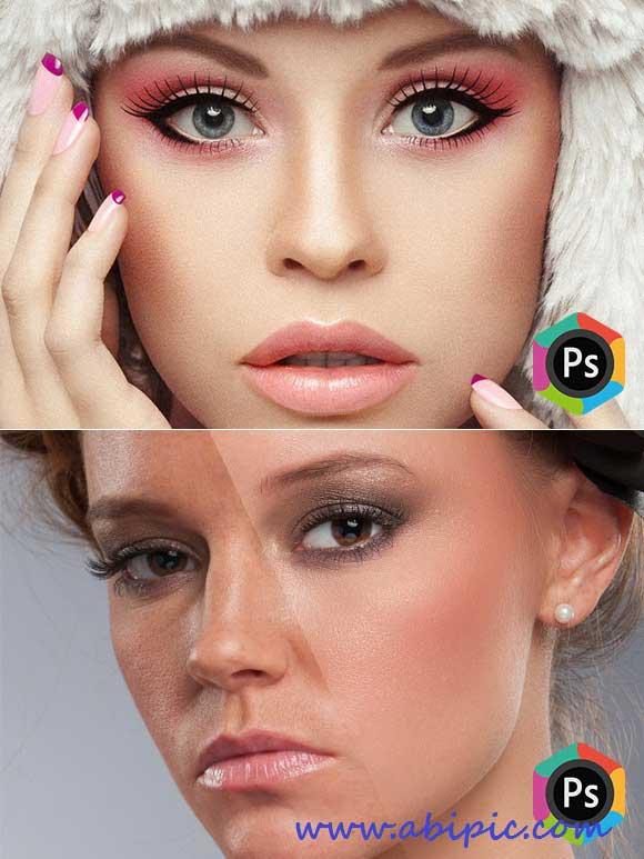 دانلود اکشن حرفه ای روتوش عکس شماره 5 reativemarket-Beauty Retouching Kit