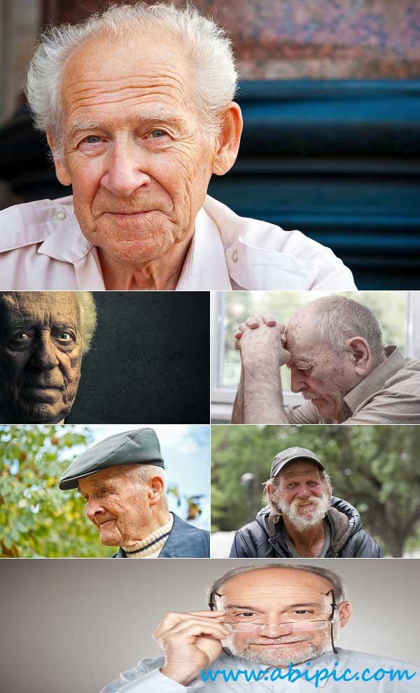 دانلود تصاویر استوک پیرمرد Stock Photo Old Man