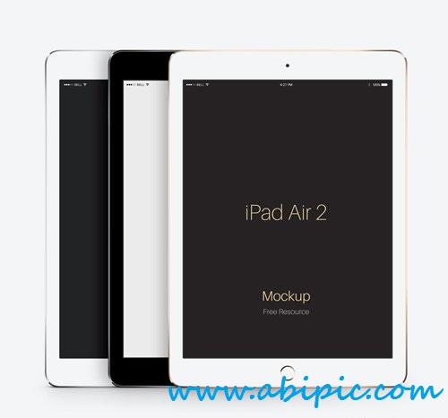 دانلود طرح لایه باز موک آپ iPad Air 2
