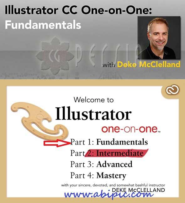 دانلود فیلم آموزش ایلوستریتور سی سی Illustrator CC One-on-One: Fundamentals آپدیت سپتامبر 2014