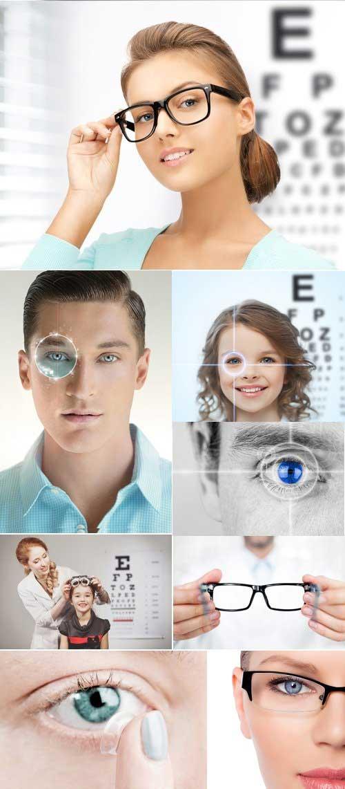 دانلود تصاویر استوک بینایی سنجی و چشم پزشکی Stock Photo - Optometry Concept