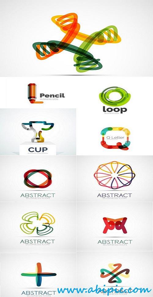 دانلود وکتور لوگوی انتزائی Vector Abstract Logos