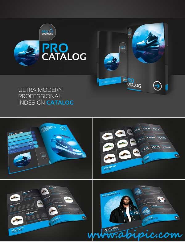 دانلود طرح لایه باز کاتالوگ و بروشور تجاری Business Catalog - Brochure