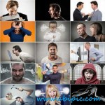 دانلود تصاویر استوک آدم های عصبانی Collection anger people