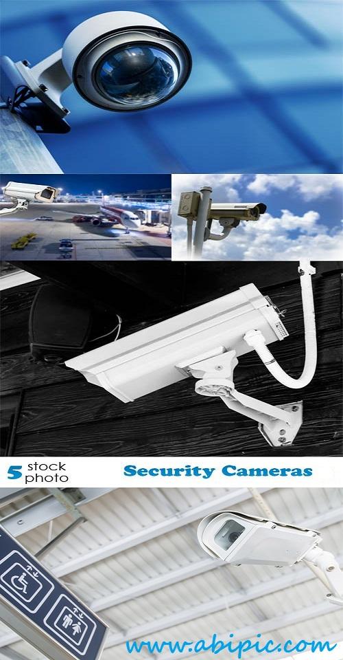 دانلود تصاویر استوک دوربین های مدار بسته Photos Security Cameras