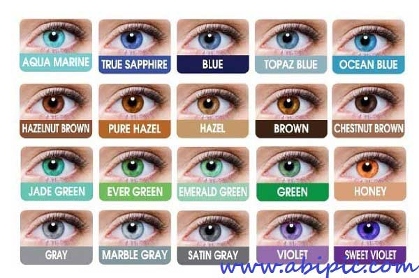 دانلود اکشن فتوشاپ تغییر رنگ چشم Eye Colors - Photoshop actions