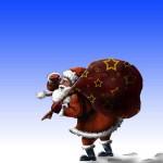 دانلود طرح لایه باز بابانوئل Layered PSD Santa Claus