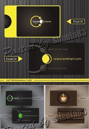 دانلود سری جدید وکتور کارت ویزیت های خلاقانه Creative Business Cards Vector