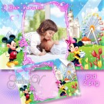 دانلود فریم عکس برای کودکان (تولد) Photoframe – Kid's Happy Birthday