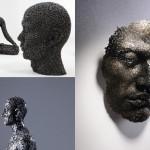عکس های زیبا از مجسمه های ساخته شده از زنجیر Sculptures made of chains