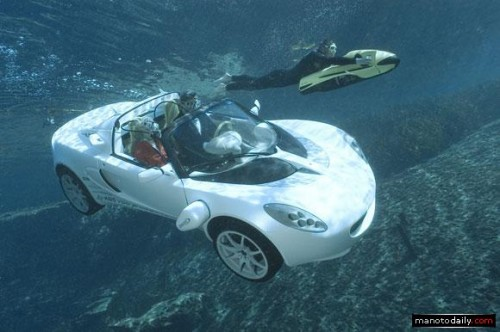 عکس های زیبا از اسکوبا ماشین زیر دریایی