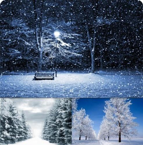 دانلود عکس استوک و والپیپرهای زیبا از زمستان Beautiful Winter Mix