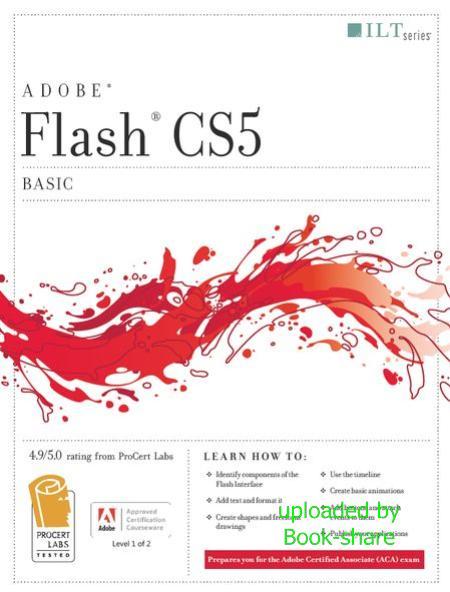 دانلود کتاب آموزش مقدماتی فلش Flash Cs5 Professional: Basic