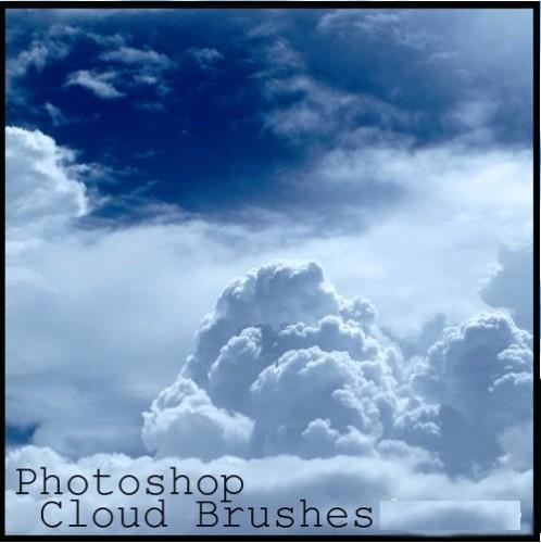 دانلود براش ابر فتوشاپ Photoshop Clouds Brushes