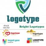 دانلود مجوعه از لوگوهای وکتوری زیبا Vectors – Bright Logotypes