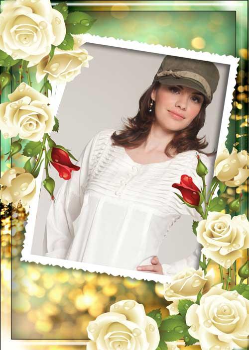 دانلود قاب عکس لایه باز بسیار زیبای رمانتیک Romantic hoto Frame