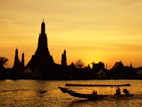 عکس شهر بانکوک در تایلند