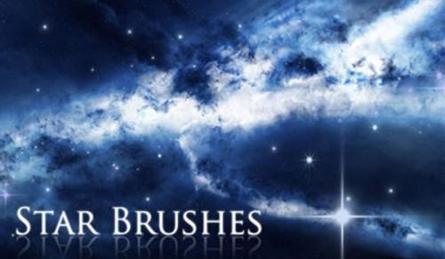 دانلود فیلم آموزش ساخت براش در فتوشاپ ( براش ستاره ) Brushing with the stars
