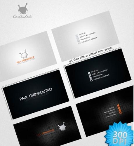 دانلود 3 طرح لایه باز کارت ویزیت فوق العاده زیبا  Elegant Card Business Designs