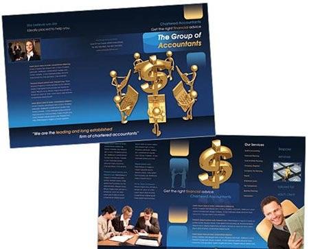 دانلود بروشور مخصوص گروه ها و شرکت های حسابداری Brochure Accounting Group