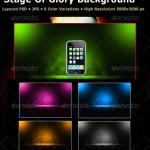 دانلود بکگراندهای لایه باز جادویی برای فتوشاپ GraphicRiver Magic Stage Background