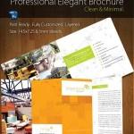 دانلود طرح لایه باز بروشور لوازم منزل و دکوراسیون Graphicriver Quad-Fold Brochure