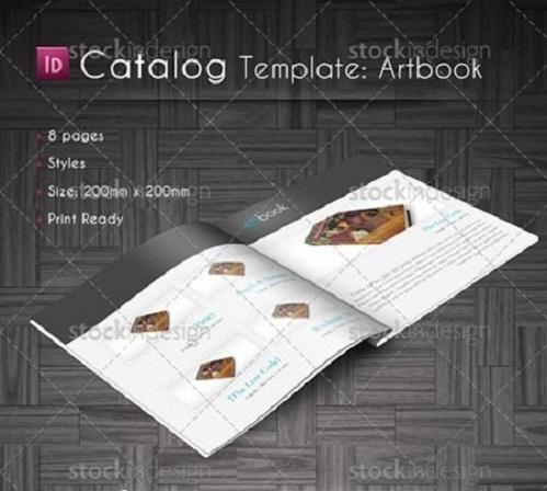 دانلود طرح و قالب کاتالوگ ایندیزاین InDesign Catalog Template