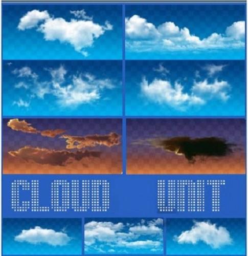 دانلود طرح پس زمینه آسمان و ابر برای طراحی لایه باز Sky ، clouds backgrounds psd