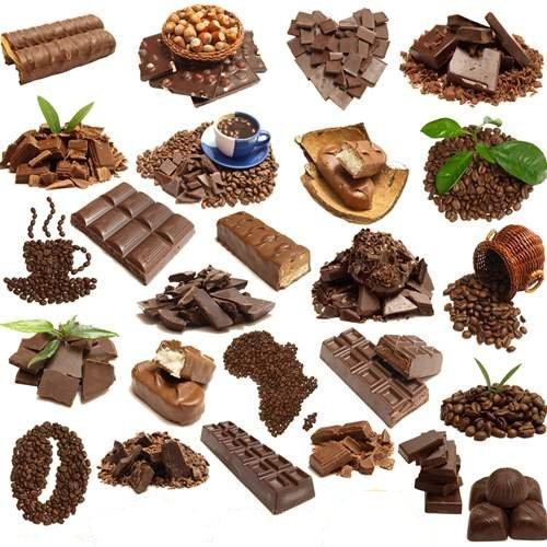 دانلود تصاویر استوک قهوه وشکلات Stock Photo: Favourite coffee and chocolate