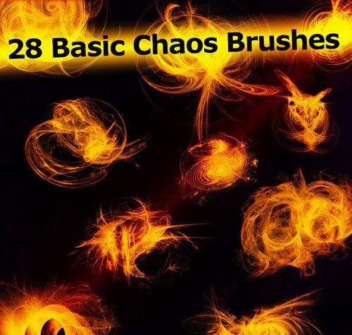 دانلود مجموعه 28 براش زیبای جادویی Brushes set - 28 basic chaos