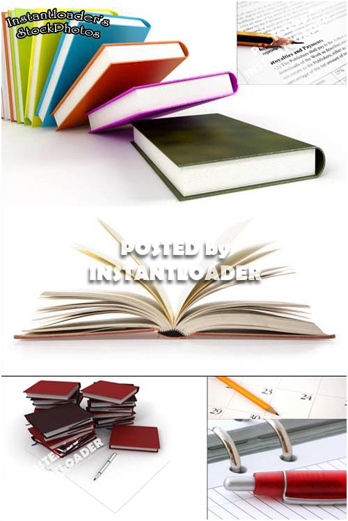 دانلود تصاویر استوک کتاب  Books - StockPhotos
