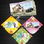 دانلود 3 طرح لایه باز برای پاکت کارت عروسی Envelopes for wedding congratulations PSD