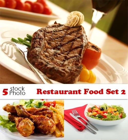 دانلود تصاویر استوک غذا های رستوران Stock Photos - Restaurant Food