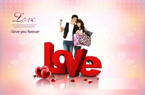 دانلود طرح لایه باز عاشقانه Sources - Love Forever PSD