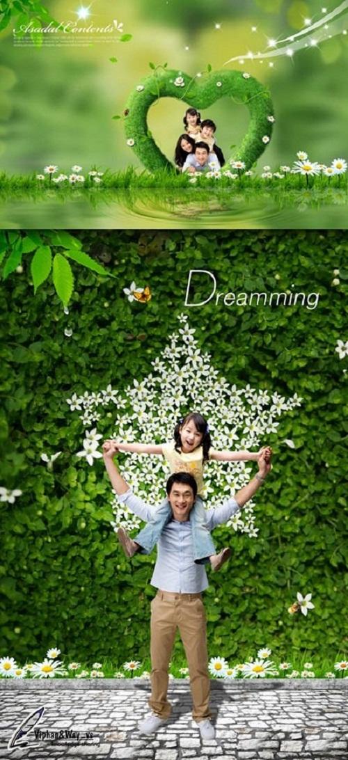 دانلود پروژه و طرح لایه باز آماده فتوشاپ با نام آرزوهای ما Sources PSD - Our Dream