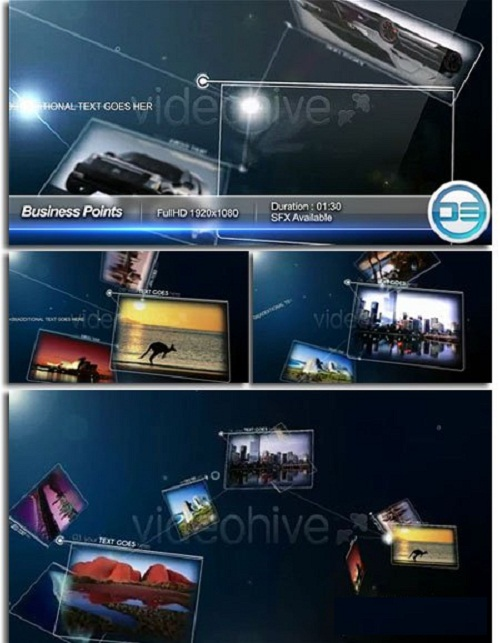 دانلود پروژه افتر افکت تجاری Videohive - Business Points - Project for After Effects