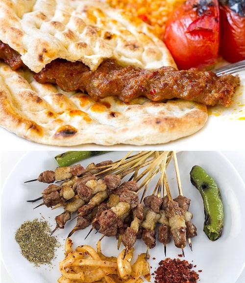 دانلود 5 تصویر استوک بسیار زیبای کباب Kebab Stock Photos