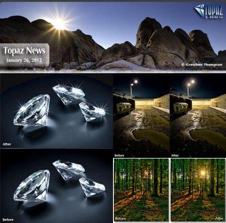دانلود پلاگین افکت نور و ستاره برای فتوشاپ Topaz Star Effects 1.1 for Adobe Photoshop