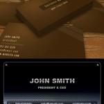 کارت ویزیت لایه باز سری جدید Business Corporate Card Template PSD