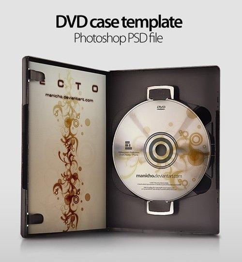 دانلود طرح لایه باز قاب دی وی دی Dvd Case Art Psd for Photoshop