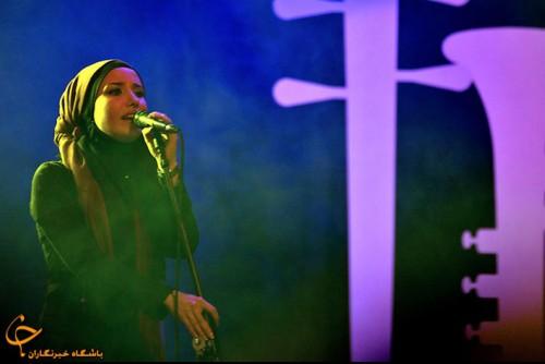 تصاویری بسیار زیبا و دیدینی از کنسرت خوانندگان در جشنواره موسیقی فجر