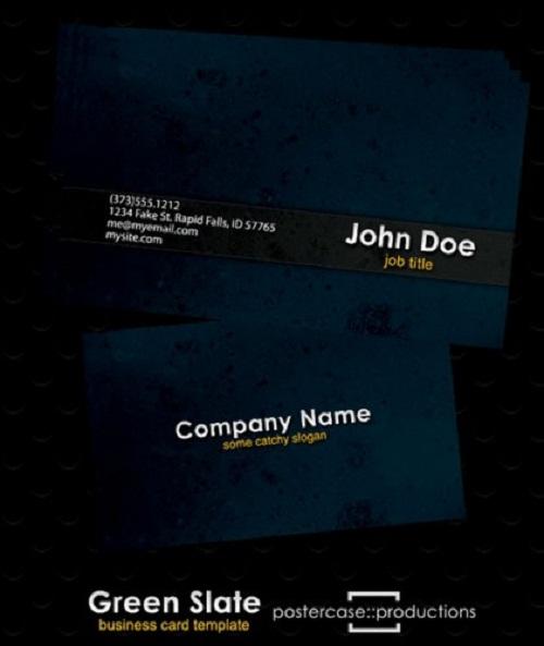 دانلود کارت ویزیت لایه باز مناسب برای تمامی شغل ها Business Card PSD