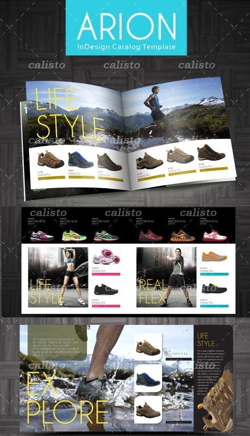 دانلود طرح آماده کاتالوگ 16 صفحه ای برای ایندیزاین InDesign Catalog Template