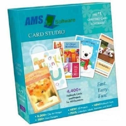 دانلود نسخه قابل حمل نرم افزار ساخت انواع کارت ها AMS Greeting Card Studio 5.43 + Portable